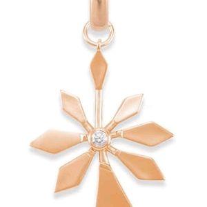 NEW Kendra Scott Geometric Flower Charm Necklace